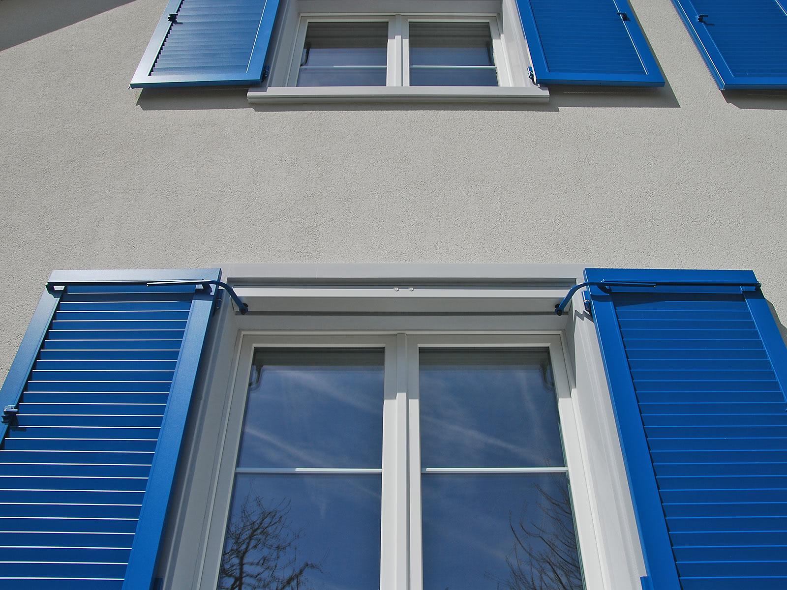 Colorati D Azzurro Chiaro persiane colorate per facciate personalizzate