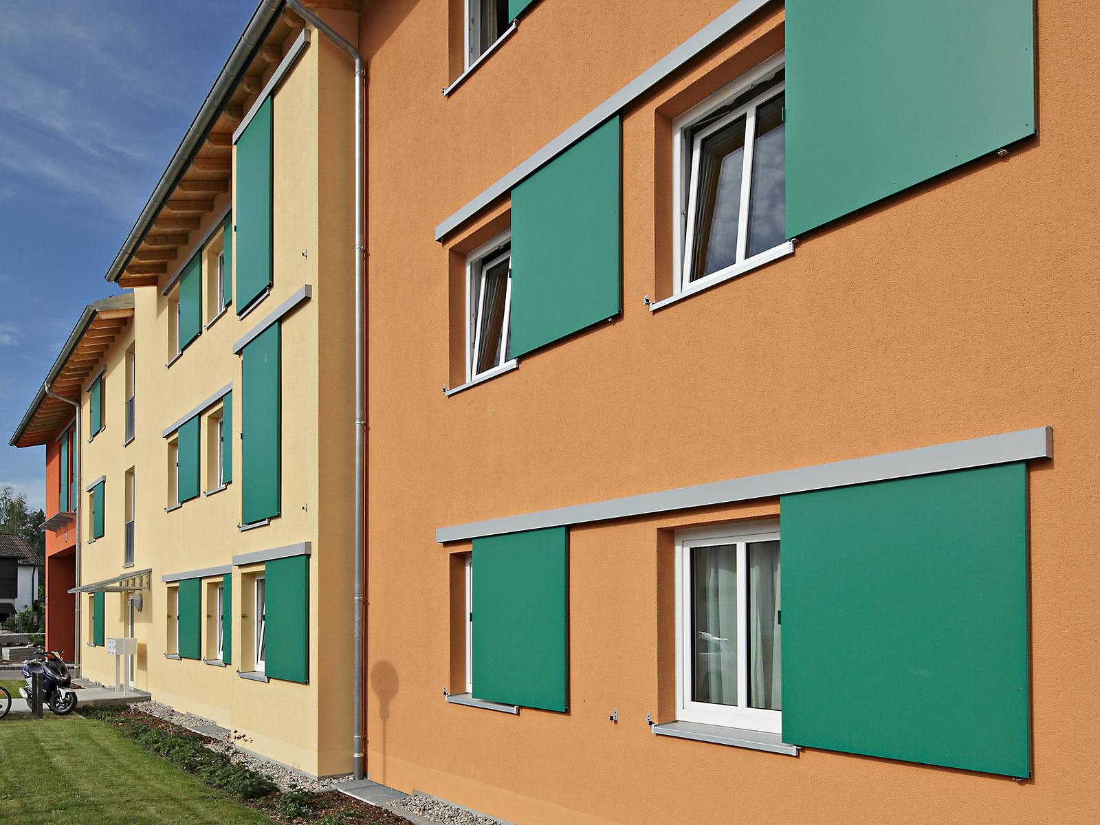 Schallisolierte Fensterläden - EHRET