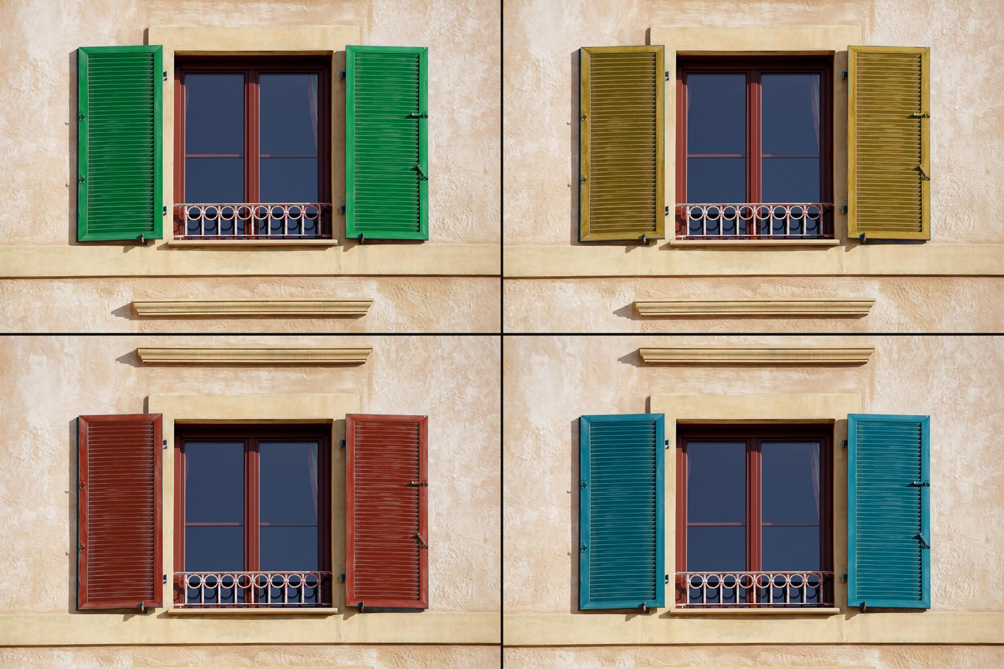 Cosa Sono Le Persiane scelta di colori persiane ehret