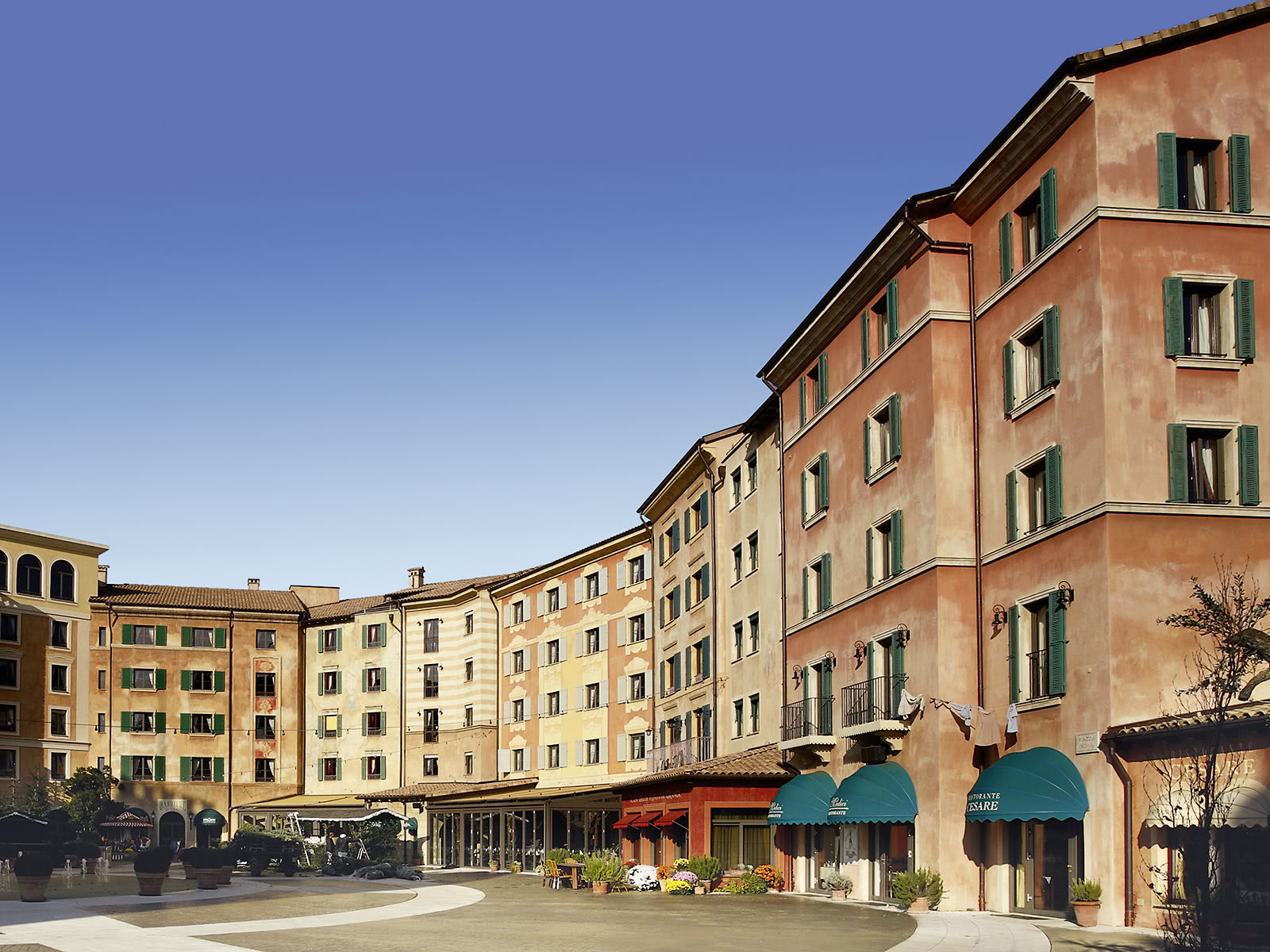Referenzobjekt Ehret Hotel Colosseo Europapark Rust