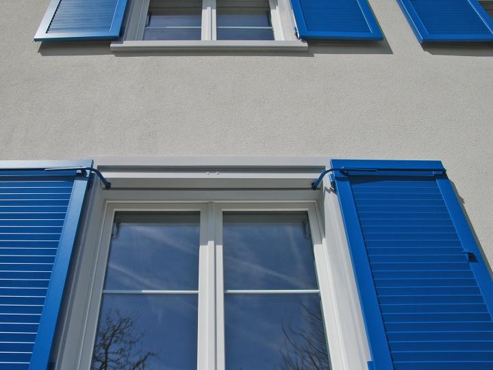 Fensterläden mit Elektro-Antrieb