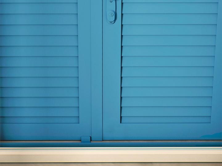 Sicherheitsfensterläden und Einbruchschutz