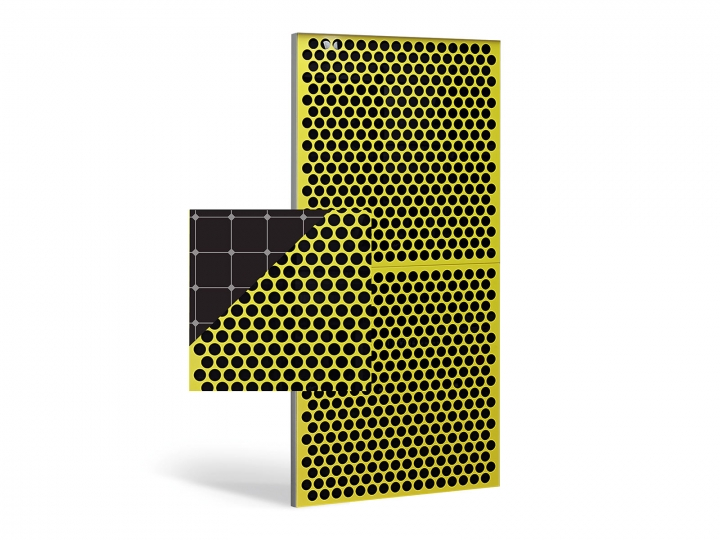 Les volets coulissants photovoltaïques EHRET allient le design à l'efficacité et à la durabilité