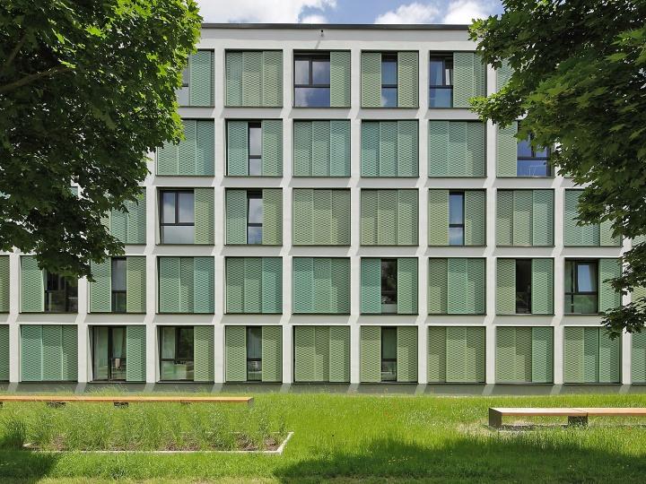 Studierenden-Wohnanlage in Neu-Ulm - EHRET