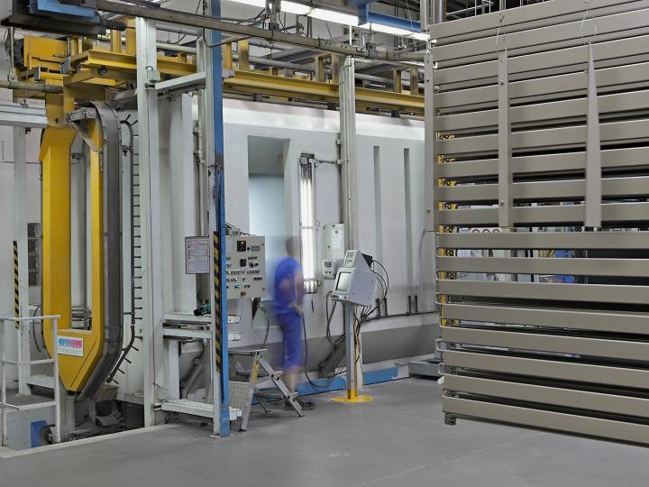 EHRET Qualität - Beschichtungsverfahren