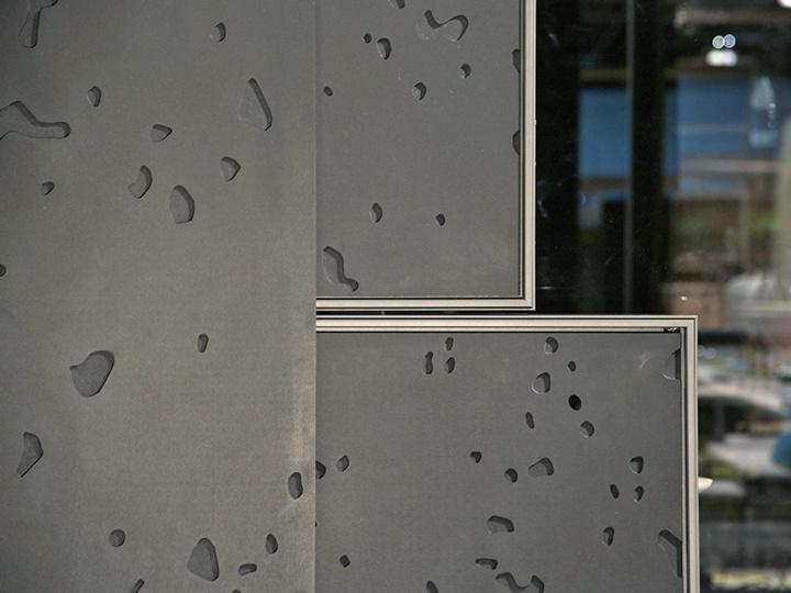 EHRET sliding shutter facade
