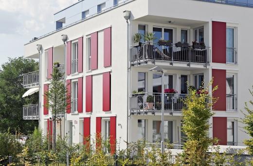 Wohnanlage Karlsruhe - Referenzobjekt EHRET