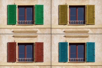 Vier Farben - vier Wirkungen