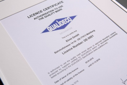 Certificata Qualideco - EHRET